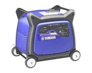 The Yamaha EF6300iSDE is compact, but still weighs about 200 pounds dry.