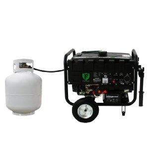 The DuroStar DS4400EHF Hybrid can easily be hooked up to run on propane.