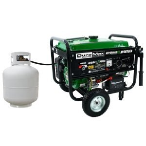 DuroMax XP4850EH - enjoy the freedom of using gas or liquid propane.