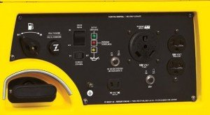 Champion Power Equipment No.75531i - Full power panel with RV hookup.