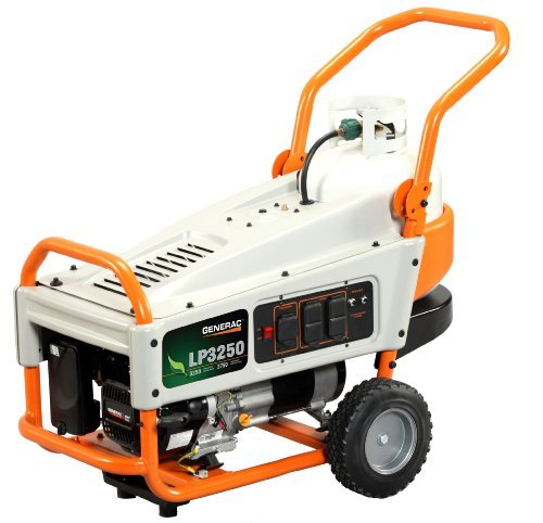 Generac LP3250: the best value 3250 watt propane generator.