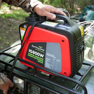 At just 21 pounds, the IG800W is the ultimate camping/travel inverter generator!