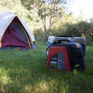 The Earthquake IG800W - a 2014 best-value pick small portable inverter generator.